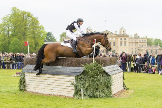 Olympic silver medallists Ingrid Klimke (GER) and Horseware Hale Bob OLD take over the lead on a very influential cross country day at Badminton, fourth leg of the FEI Classics™.