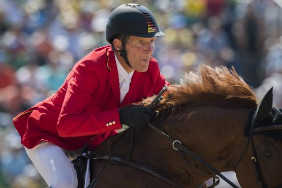 Jumping superstar, Ludger Beerbaum, announced his retirement from the German national team today. (Richard Juillart/FEI)