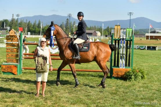 Mattias Tromp rode KM Whatever RV to victory in the  $5,000 Lake Placid CVB 1.40m Open Stake