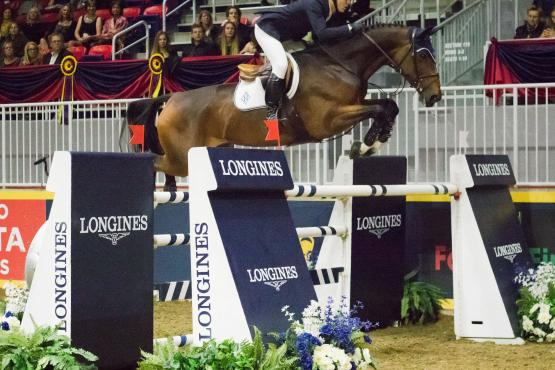 The United States' McLain Ward once again proves his dominance at The Royal Agricultural Winter Fair with yet another victory aboard HH Azur in the $130,270 Longines FEI World Cup™ Jumping Toronto.