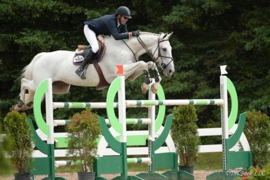 Paul O'Shea rode NLF Newsflash to the win in the  $100,000 Equine Insurance Services/Great American Grand Prix