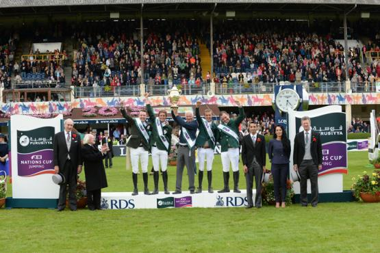 Ireland wins nations cup at dublin