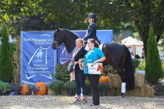 Rachael Hicks, Don Cartier, USDF, Region 2 Championships