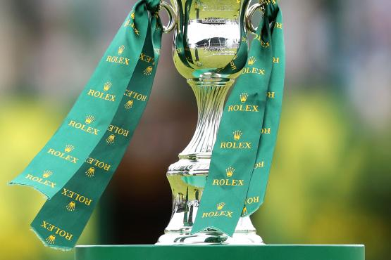 The Rolex Grand Slam trophy