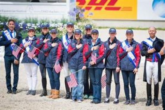 U.S. Dressage Team, CHIO Aachen, Nations Cup