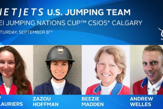 Led by Chef d'Equipe Robert Ridland, the following athletes have been selected for the NetJets U.S. Jumping Team