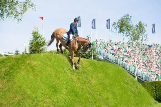 William Funnell, Al Shira'aa Derby winner at Hickstead today with Billy Buckingham (Photo: (c) Nigel Goddard)