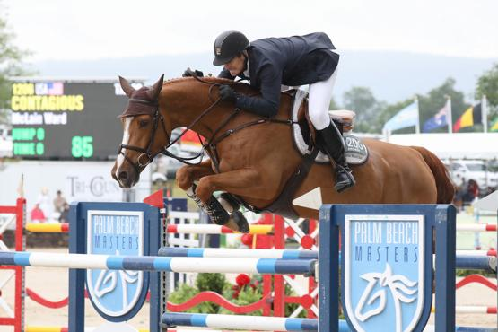 McLain Ward and Contagious