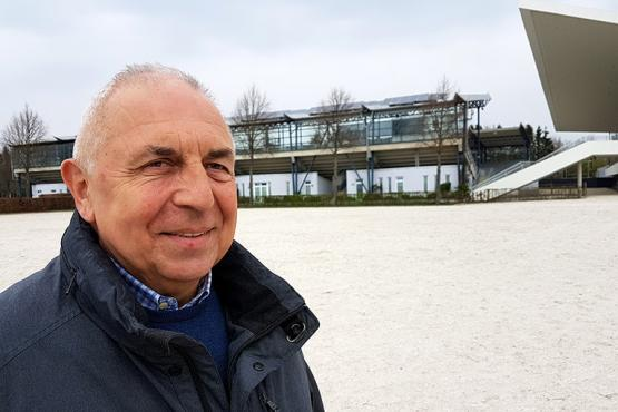 Chief Steward, Jacques Van Daele from Belgium, spoke about last year and the coming CHIO Aachen