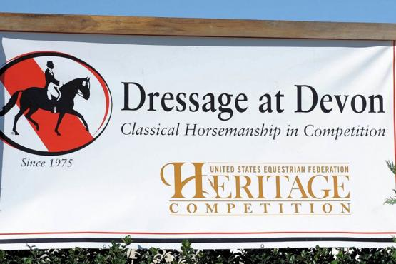 Dressage at Devon