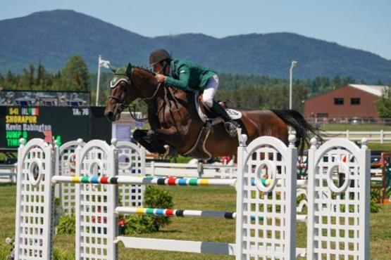 Kevin Babington and Shorapur Lake Placid
