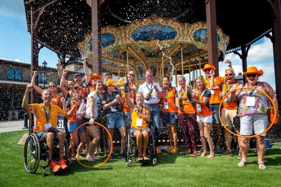 Team Netherlands at FEI World Equestrian Games 2018