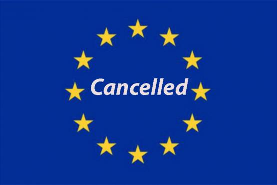 European Flag - Cancelled