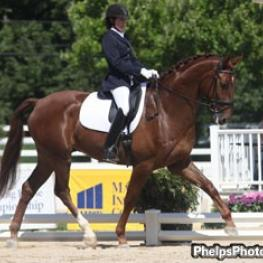 2011 Markel/USEF 4 Year Old Champion Furst Fiorano, Westfalen by Furst Piccolo.