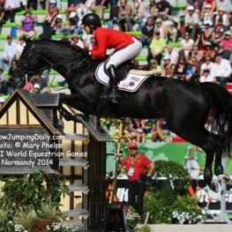 Beezie Madden and Cortes 'C'. Photo by Mary Phelps