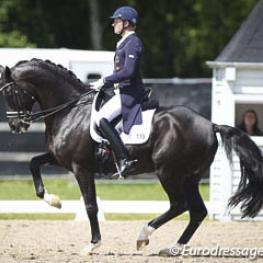 Matthias Alexander Rath and Totilas at the 2014 CDI Kapellen (Photo © Astrid Appels)