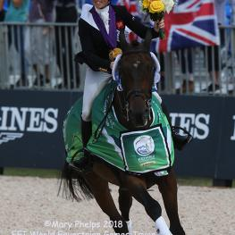 Great Brittian Gold Medal Eventing Team