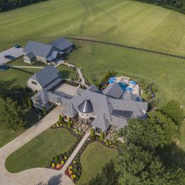 Arial View-3672 Talley Moore Rd, Columbia, TN