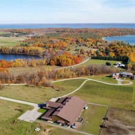 Arial View 3888 Swaney Rd, Traverse City, MI