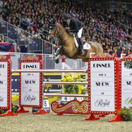 Canadian Olympic gold medalist Eric Lamaze finished in second in Thursday night's $85,000 Big Ben International Challenge. (Photo: Ben Radvanyi Photography)