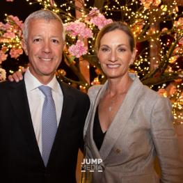 Honorary Chairmen Lou and Joan Jacobs hosted the Take Me To Tokyo gala at their Deeridge Farm in Wellington, FL. (Photo: Jump Media)
