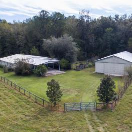 16_Aerial Barns_20060 NW 125th Ave._Micanopy, FL 32667