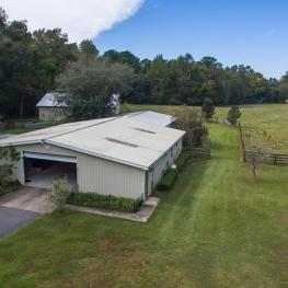 18_Barn_Aerial_20060 NW 125th Ave._Micanopy, FL 32667