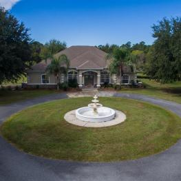 1_Front View Aerial_20060 NW 125th Ave._Micanopy, FL 32667