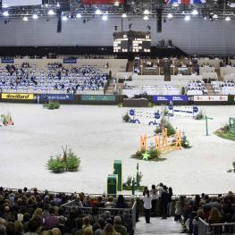 The Palexpo, the largest indoor arena in the world and the venue of the CHI in Geneva