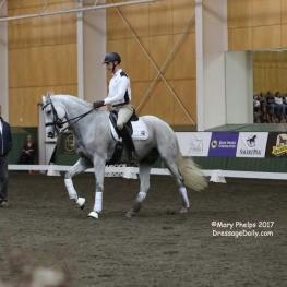 Carl Hester with Adam Steffens and Zikomo De Grand