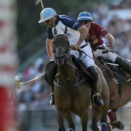 Adolfo Cambiaso on Chocolate, owned by Valiente Polo.