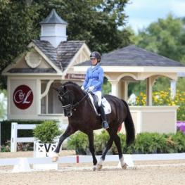 This weekend Lamplight Equestrian Center is hosting September Dressage at Lamplight and the Great American/USDF Breeders Championship Series North Central Final. Pictured are Alice Tarjan and Candescent competing at Lamplight in August.