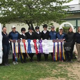 The Averett University Intercollegiate Dressage (IDA) Team won four Custom Saddlery saddles as champions of the 2017 IDA National Championships