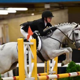 Bailey Doloff and Wishlea Star Dasher, pony finals 2016