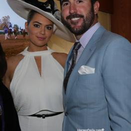 Kate Upton and Justin Verlander.