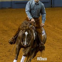 Brian Bell, riding Ruf Lil Magnum, for Silver Spurs Equine