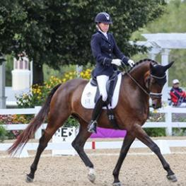Carly Taylor-Smith and Rosalut NHF markel young horse
