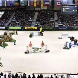 he Palexpo in Geneva, the largest indoor arena in the world.