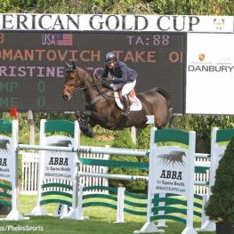 an Am Gold Medalist Christine McCrea won the  American Gold Cup in 2006.
