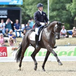 Endel Ots, Lucky Strike, FEI World Breeding Championships for Dressage Young Horses