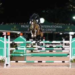 Eric Lamaze and Fine Lady 5, WEF 2017 week 3