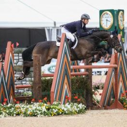 Fischerrocana FST and Michael Jung won the Rolex Kentucky Three-Day Event, presented by Land Rover. (Ben Radvanyi photo)