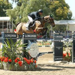 Mexico's Francisco Pasquel and Naranjo deliver the only double clear performance to win the sixth leg of the Longines FEI World Cup™ Jumping 2016/2017 North American League Western Sub-League.