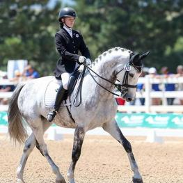 Jenna Upchurch and Greystoke (Photo: Susan J. Stickle)