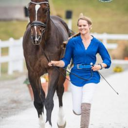 CCI*** competitor Jordan Linstedt and Revitavet Capato