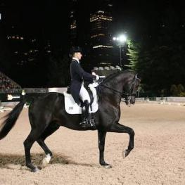 Judy Reynolds and Vancouver K, 2016 Central Park Horse Show