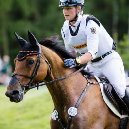 The FEI European Eventing Championships 2019 will be hosted at Luhmühlen, the German venue where Julia Krajewski and Samourai Du Thot (above) galloped to victory in June this year.