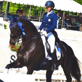 Triple Crown Nutrition Ambassador Kasey Perry-Glass and Goerklintgaards Dublet won the U.S. Dressage National Grand Prix Championship at The Dutta Corp. U.S. Dressage Festival of Champions