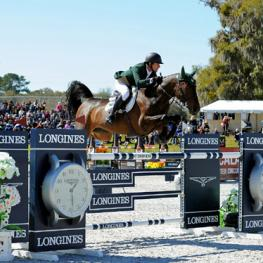 Team Ireland's Kevin Babington and Shorapur at the 2015 Furusiyya FEI Nations Cup at HITS Ocala CSIO4*.