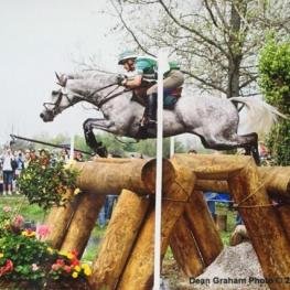 Kim Meier and Test Run had a top-10 finish at Kentucky Rolex Three Day Event in 2004.